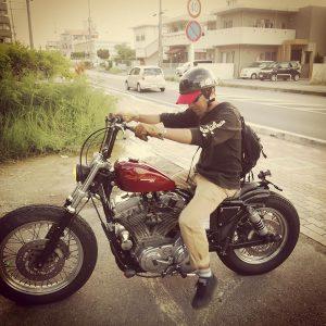 バイク20160820